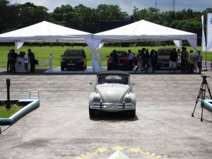 National president Doy's own Beetle.